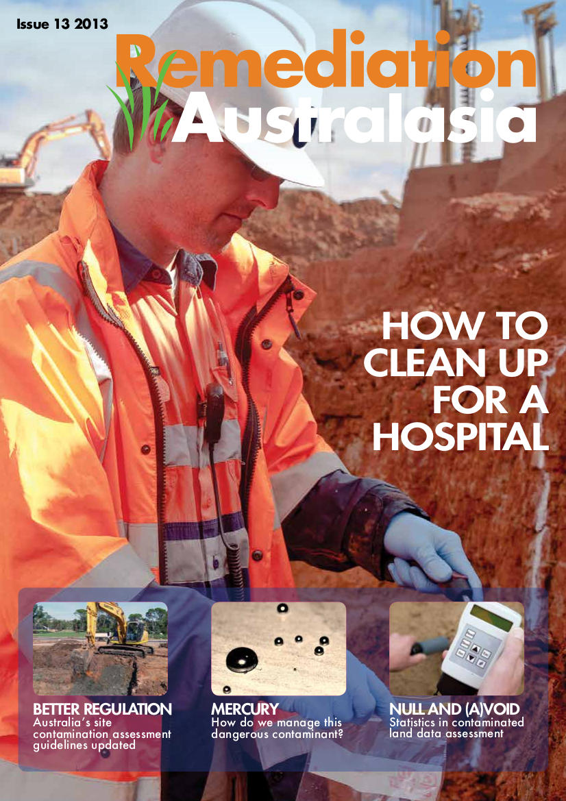 Remediation Australasia Issue 13 Cover