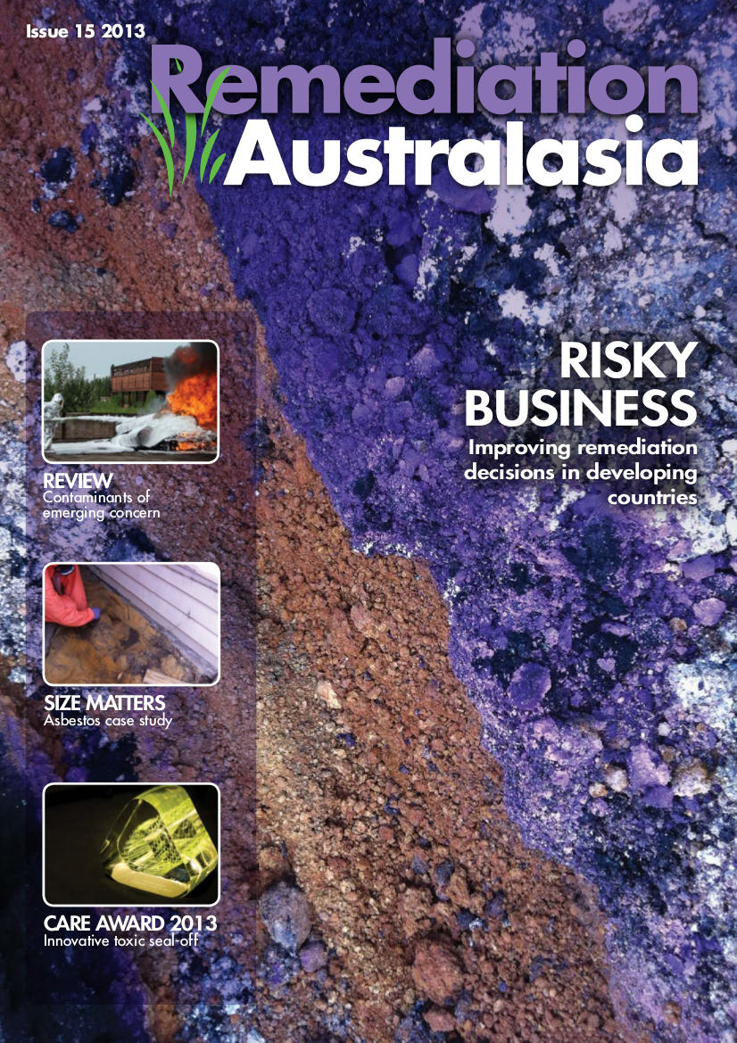 Remediation Australasia Issue 15 Cover Image